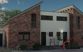 Doppelhaus Creative 115 Bsa Wohnbau Kreatives Doppelhaus Mit Pultdach