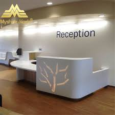 Office Reception Desks by White Round Office Reception Desk White Round Office Reception
