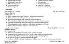 Machine Operator Resume Example by Electrical Foreman Resume Samples Inspiredshares Com