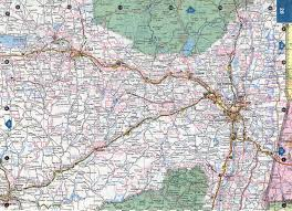 detailed map of new york road map of nyc major tourist attractions maps