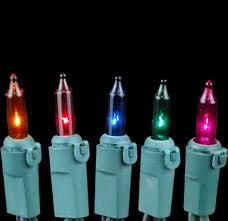 multi colored non connectible mini light sets 20 light