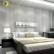 Grey And White Bedroom Wallpaper Compare Prices On Grey Stripe Wallpaper Online Shopping Buy Low