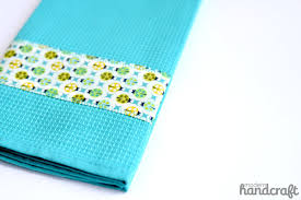 modern kitchen towels quick decorative towel a tutorial u2013 modern handcraft