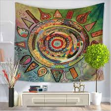 home decor tapestry aliexpress com buy home decor polyester fabric sun and moon