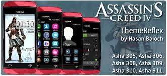 themes nokia asha 308 download assassin s creed iv black flag theme for nokia asha 305 asha 306