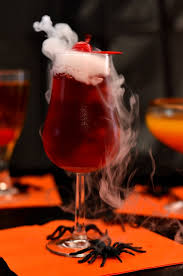 halloween party drinks bloody vampire recipe dry ice and spooky