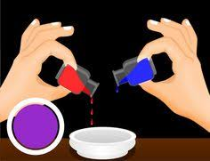 make different colors with food coloring food and cake