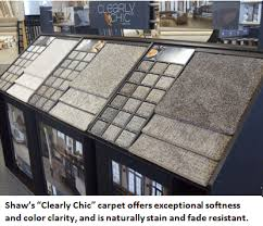 flooring express introduces clearly chic carpet from shaw