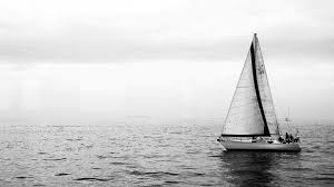 grey sky and sea sailing desktop backgrounds widescreen and hd