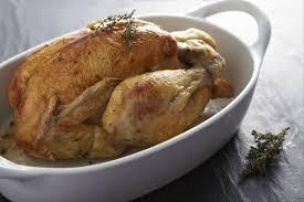 cuisiner un poulet roti recette de poulet rôti au thym facile et rapide