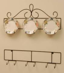 plate hanger horizontal 3 place hierro forjado