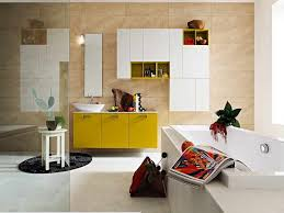 Ideas For Bathroom Wall Decor Prepossessing 70 Yellow Bathroom Themes Inspiration Design Of