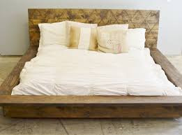 Simple Wooden Beds Rustic Wood Bed Frame Rustic Wooden Bed Frames Bed And Bath