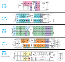 cruise ship floor plans lower mississippi river cruise