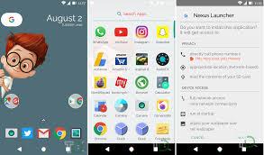 nexus launcher apk free nexus launcher apk for android