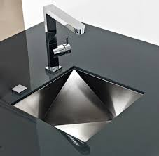 Kitchen Design Sink Modern Kitchen Sink With A Half Shape Swivel