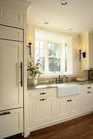 painting kitchen cabinets cream kitchen ideas farmhouse sinks chic elegant cream and brown
