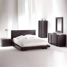 monaco platform bed bedroom set chocolate queen bedroom sets