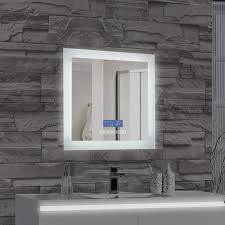 Illuminated Bathroom Wall Mirror Mtd Vanities Encore Led Illuminated Bathroom Wall Mirror With