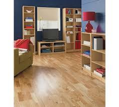 Beech Bookcases Uk Buy Home Maine 5 Shelf Half Width Deep Bookcase Beech Effect At
