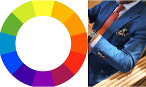 orange and blue combination how to style coloured shirt and tie combinations the idle man