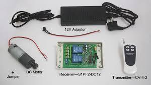 dc motor remote control