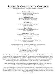 santa fe community college 2006 07 catalog financial endowment