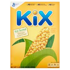 Breakfast Food Cereal Walmart Com by Kix Cereal 18 Oz Box Walmart Com