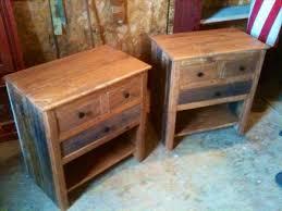 diy vintage set of pallet nightstands pallet furniture plans