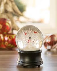 snowman musical snow globe balsam hill australia