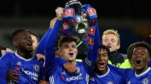 chelsea youth players conte speaks to chelsea u 18 team after fa youth cup triumph read