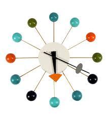Herman Miller Clocks Clock Modern George Nelson Clock For Home George Nelson Eye Clock