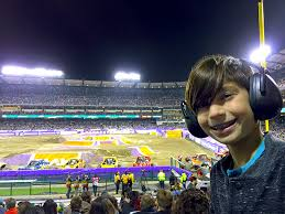 monster truck jam anaheim popsicle blog goes to monster jam at angel stadium in anaheim