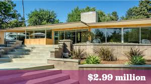 pasadena u0027s case study house no 10 listed for 3 million after