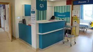 Hospital Reception Desk Hospital Reception Area G3 Queen Alexandra Hospital