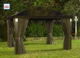For Living Gazebo Cover by A Solar Lighted Hardtop Gazebo 10 U0027x14 U0027 Projects Lists