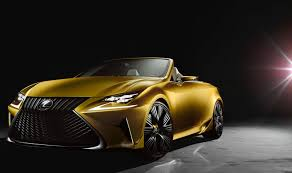lexus vehicle check check out the gold concept car making its debut at the la auto show