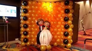 wedding backdrop balloons jocelyn s balloon decorations jocelynballoons the leading