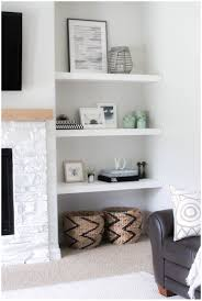 decorating with floating shelves ideas for bedroom trends