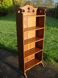 Arts Crafts Bookcase Red House Antiques Arts U0026 Crafts Bookcase With Pierced Spades