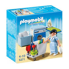 chambre playmobil playmobil 5271 femme de chambre hôtel play original