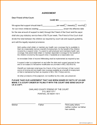 10 free printable child support forms boy friend letters