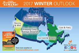 California Weather Map Winter Weather Forecast 2016 2017 Northern Ontario Travel