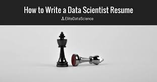 Scientist Resume To Write The Perfect Data Scientist Resume