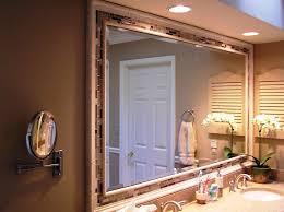 framed bathroom mirror ideas framed bathroom mirrors ideas how to diy framing bathroom mirror