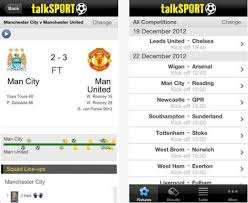 english premier league results table talksport live lands on ios android