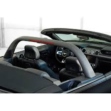 All Black Mustang Classic Design Concepts S550 Mustang Black Convertible Lightbar