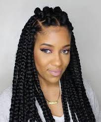 my braids are too heavy 70 best black braided hairstyles that turn heads thick box braids