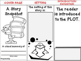 foldable craftivity template focusing on plot setting theme by