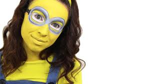 minion face paint tutorial despicable me youtube